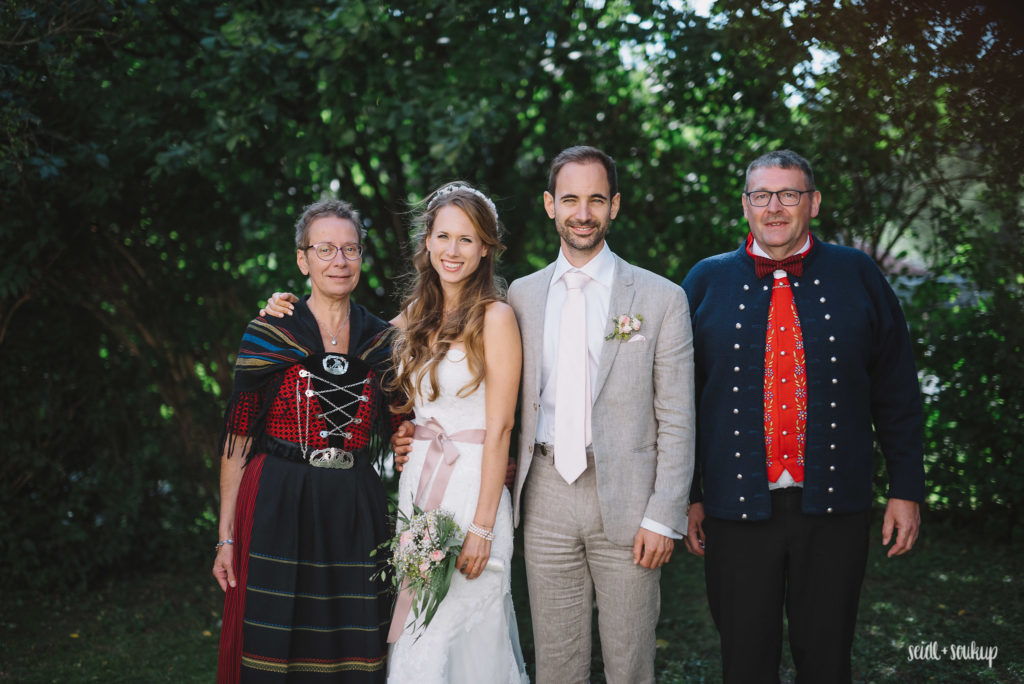 Jórun, Marie Jorunn, Martin, Per at our wedding, (c) seidlsoukup.at